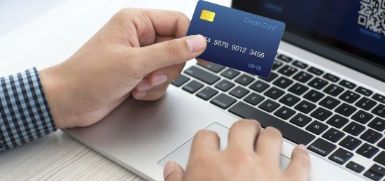 using credit cards and debit cards